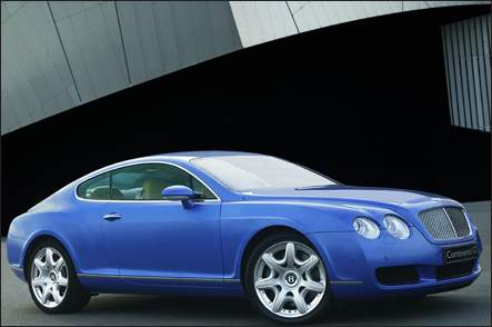 2005 Bentley Continental GT 2 Dr Turbo Coupe picture