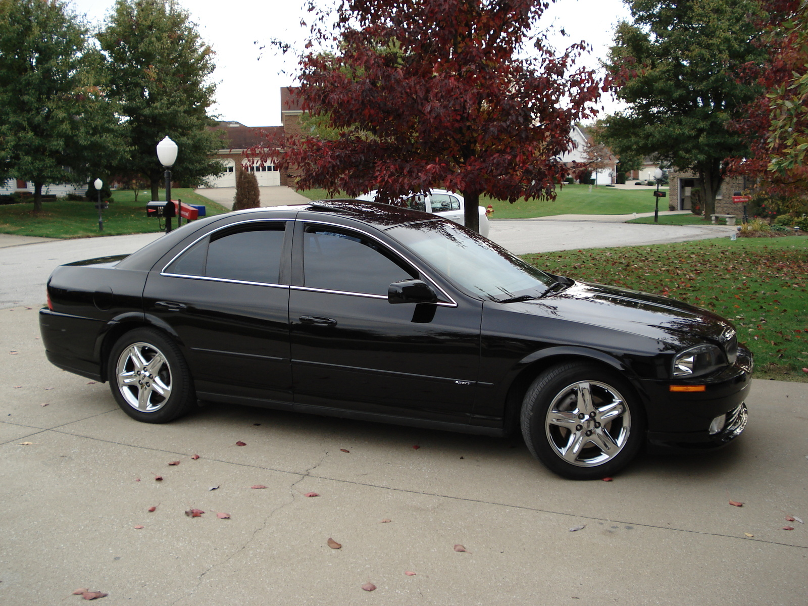Lincoln Ls V Sport Pic on 2002 Lincoln Ls V8 Red Picture