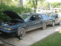 1991 Oldsmobile Cutlass Ciera 4 Dr S Cruiser Wagon picture, exterior, engine