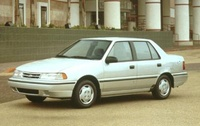1992 Hyundai Excel Overview