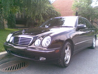 2001 Mercedes-Benz E-Class E430, 2001 Mercedes-Benz E430 4 Dr E430 Sedan picture, exterior