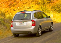2009 Kia Rondo Picture Gallery