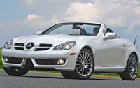2010 Mercedes-Benz SLK-Class, Front Left Quarter View, exterior, manufacturer, gallery_worthy