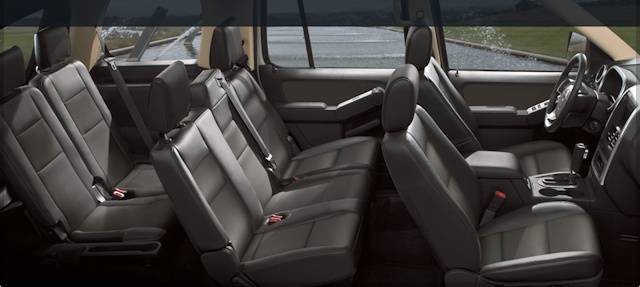 2010 Mercury Mountaineer, Interior View, interior, manufacturer