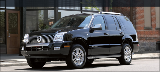 2010 Mercury Mountaineer, Front Left Quarter View, manufacturer, exterior