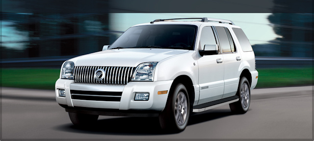 2010 Mercury Mountaineer, Front Left Quarter View, exterior, manufacturer, gallery_worthy