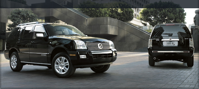 2010 Mercury Mountaineer, Exterior View, manufacturer, exterior