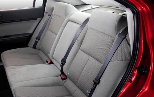 mitsubishi galant 2004 interior. 2010 Mitsubishi Galant