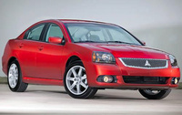2010 Mitsubishi Galant, Front Right Quarter View, manufacturer, exterior
