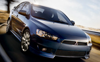 2010 Mitsubishi Lancer, Front Right Quarter View, manufacturer, exterior