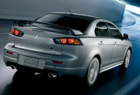 2010 Mitsubishi Lancer, Back Right Quarter View, exterior, manufacturer
