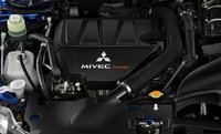 2010 Mitsubishi Lancer, Engine View, engine, manufacturer