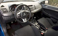 2010 Mitsubishi Lancer Evolution, Interior View, interior, manufacturer