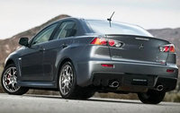 2010 Mitsubishi Lancer Evolution, Back Left Quarter View, exterior, manufacturer