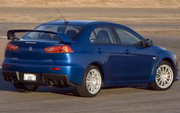 2010 Mitsubishi Lancer Evolution, Back Right Quarter View, exterior, manufacturer
