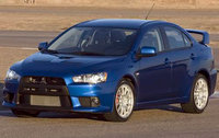 2010 Mitsubishi Lancer Evolution, Front Left Quarter View, exterior, manufacturer, gallery_worthy