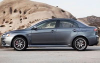 2010 Mitsubishi Lancer Evolution, Left Side View, exterior, manufacturer