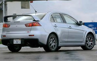 2010 Mitsubishi Lancer Evolution, Back Right Quarter View, exterior, manufacturer, gallery_worthy