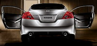 2010 Nissan Altima Coupe, Back View, exterior, manufacturer