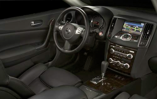 2010 Nissan Maxima, Interior View, manufacturer, interior