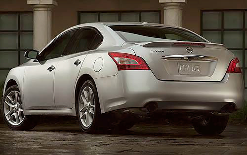 2010 Nissan Maxima, Back Left Quarter View, exterior, manufacturer