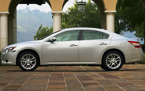 2010 Nissan Maxima, Left Side View, exterior, manufacturer