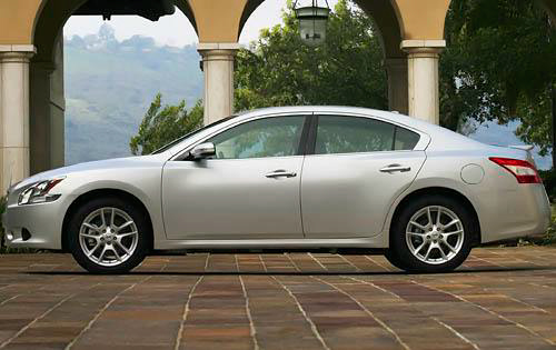 2010 Nissan Maxima, Left Side View, manufacturer, exterior