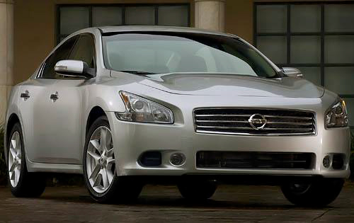 2010 Nissan Maxima, Front Right Quarter View, exterior, manufacturer