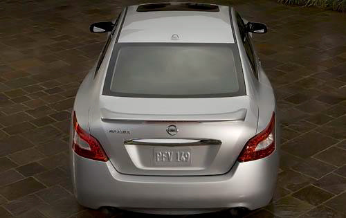 2010 Nissan Maxima, Back View, exterior, manufacturer, gallery_worthy