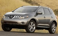 2010 Nissan Murano, Front Left Quarter View, exterior, manufacturer, gallery_worthy