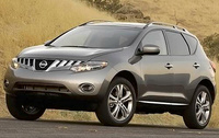 2010 Nissan Murano, Front Left Quarter View, exterior, manufacturer