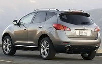 2010 Nissan Murano, Back Left Quarter View, exterior, manufacturer, gallery_worthy