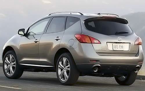 2010 Nissan Murano, Back Left Quarter View, manufacturer, exterior
