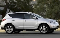 2010 Nissan Murano, Right Side View, manufacturer, exterior