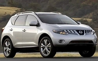 2010 Nissan Murano, Front Right Quarter View, exterior, manufacturer