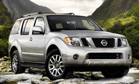 2010 Nissan Pathfinder, Front Right Quarter View, exterior, manufacturer