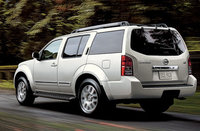 2010 Nissan Pathfinder, Back Left Quarter View, exterior, manufacturer, gallery_worthy