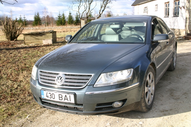 picture of 2006 volkswagen phaeton v8 4dr sedan awd exterior. Black Bedroom Furniture Sets. Home Design Ideas
