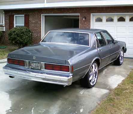 Chevrolet Caprice 1988. 1985 chevy caprice fuse box