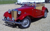 1953 MG TD Overview
