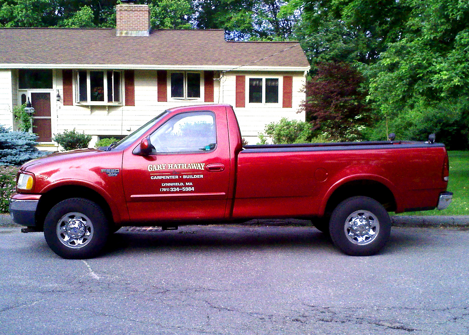 1999 Ford F-250 2 Dr XLT 4WD Standard Cab LB picture, exterior