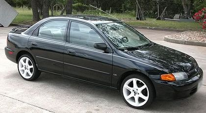 1998 Mazda Protege 4 Dr LX Sedan picture