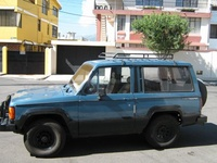 1983 Isuzu Trooper Overview