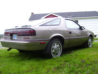 1988 Dodge Daytona, 1988 Chrysler Daytona picture, exterior