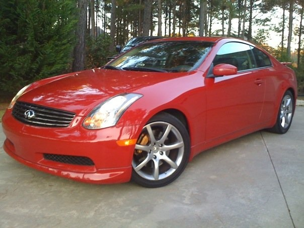 infiniti g35 coupe horsepower 2008