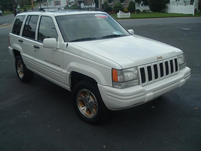 picture of 1996 jeep grand cherokee limited 4wd exterior. Cars Review. Best American Auto & Cars Review
