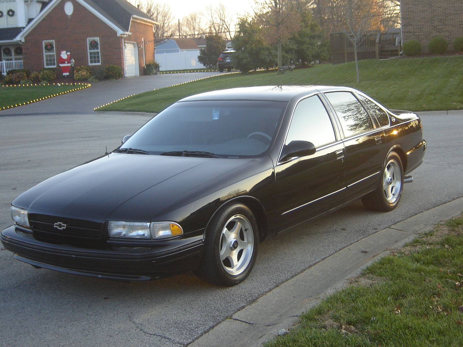 1996 Chevy Caprice For Sale Picture of 1995 Chevrolet Impala 4 Dr SS Sedan, exterior