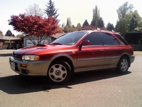 1998 Subaru Impreza, 2001 Subaru Outback Sport Wagon picture, exterior