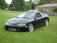 1996 Mitsubishi Eclipse GS-T Turbo, 1996 Mitsubishi Eclipse 2 Dr GS-T Turbo Hatchback picture, exterior