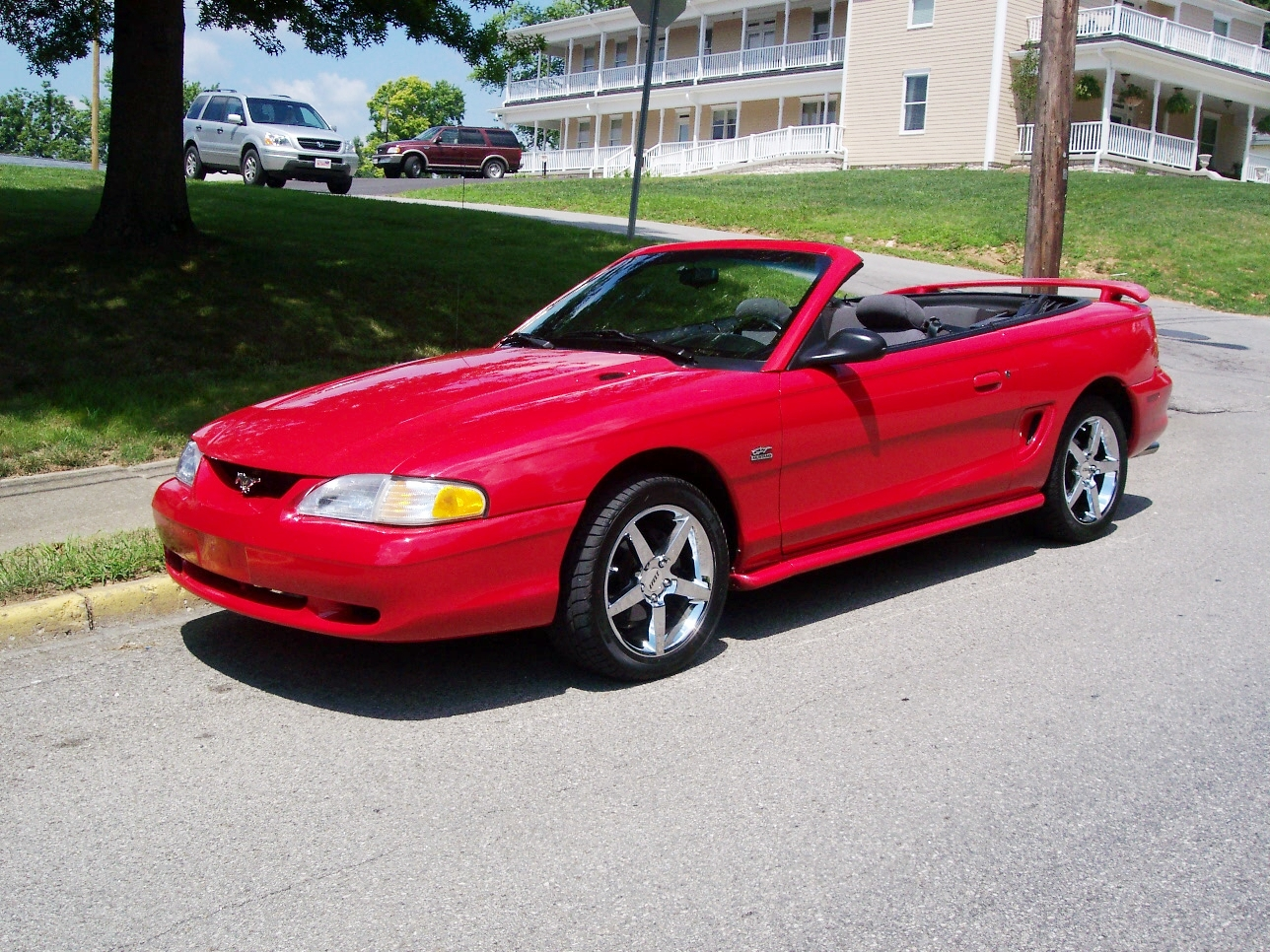 1995 ford mustang cobra convertible related infomation specifications weili automotive network. Black Bedroom Furniture Sets. Home Design Ideas